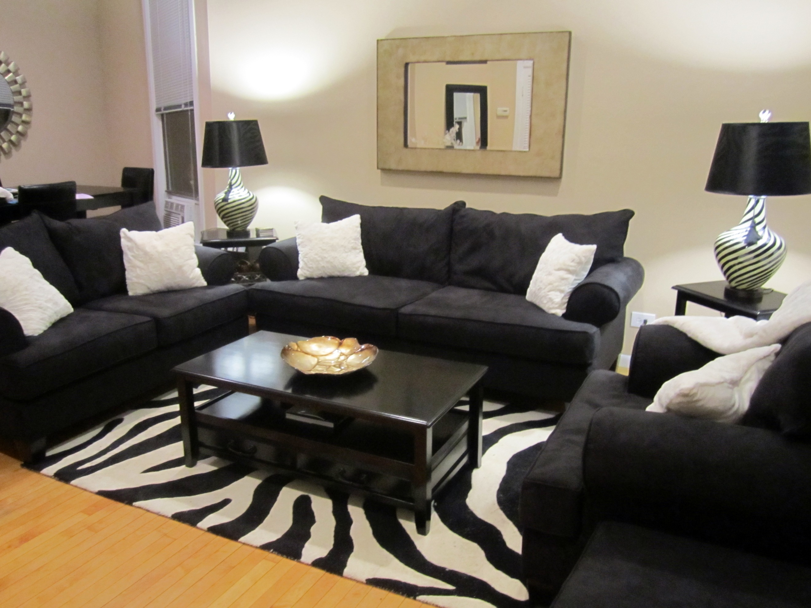 zebra dining chairs john lewis armchair covers the new place - living room — bows & sequins