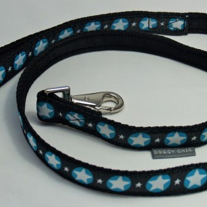Black Magic Star Lead for your dog