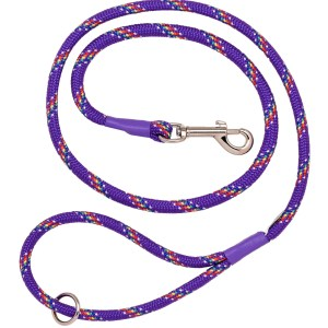 Purple Rainbow Braid Trigger Hook Lead
