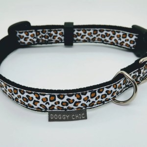 snow Leopard Collar for your dog