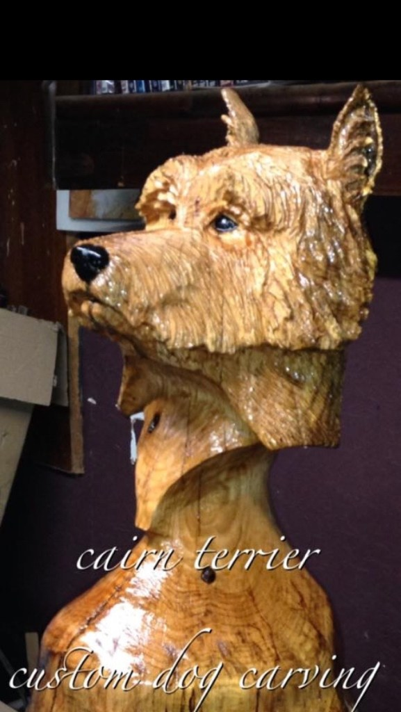Cairn Terrier by Stanton Pace. Commissioned.