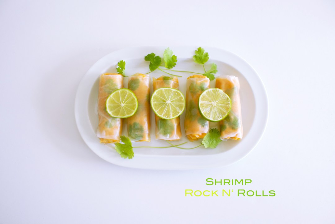 shrimp rock n' rolls
