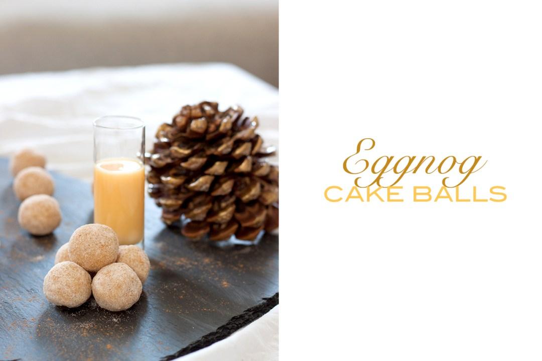 eggnog cake balls