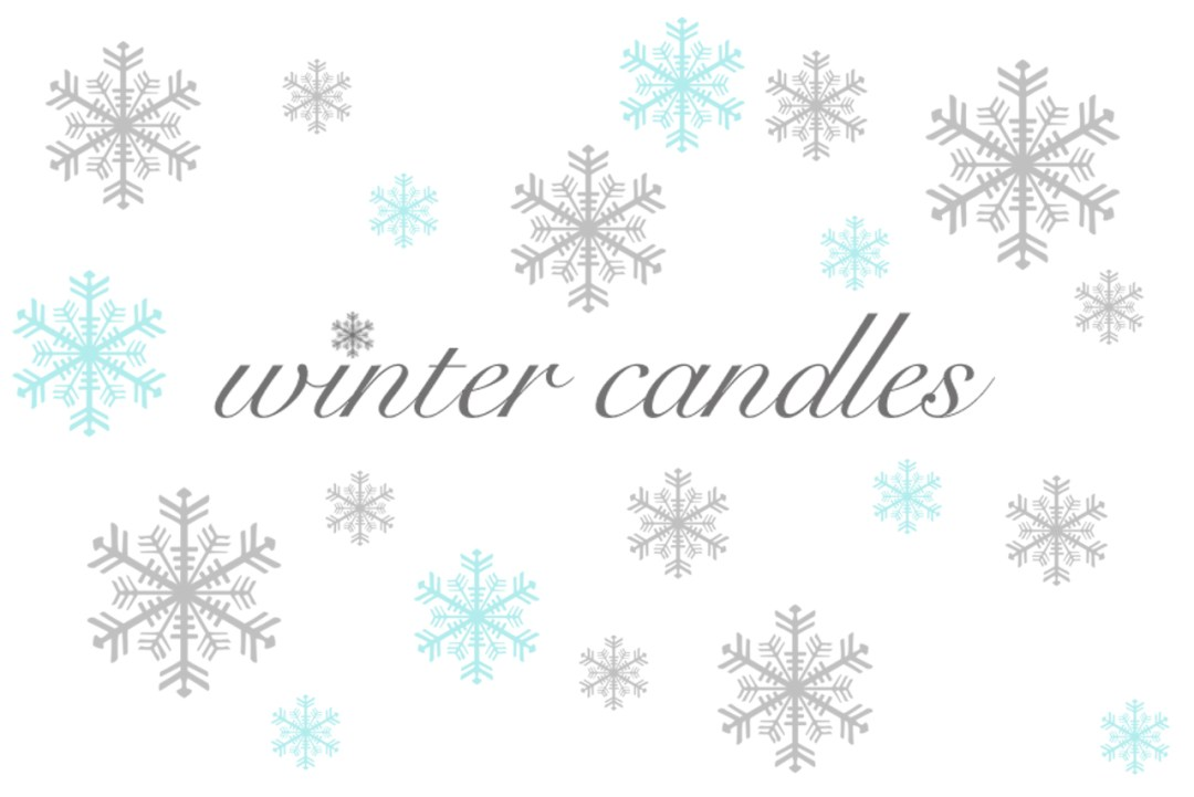 winter candles