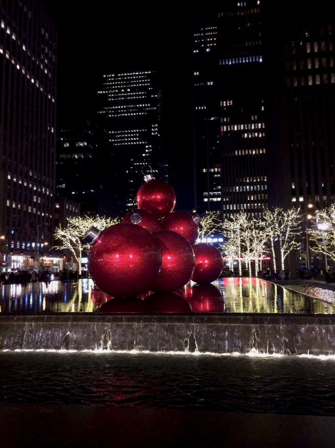 christmas baubles new york