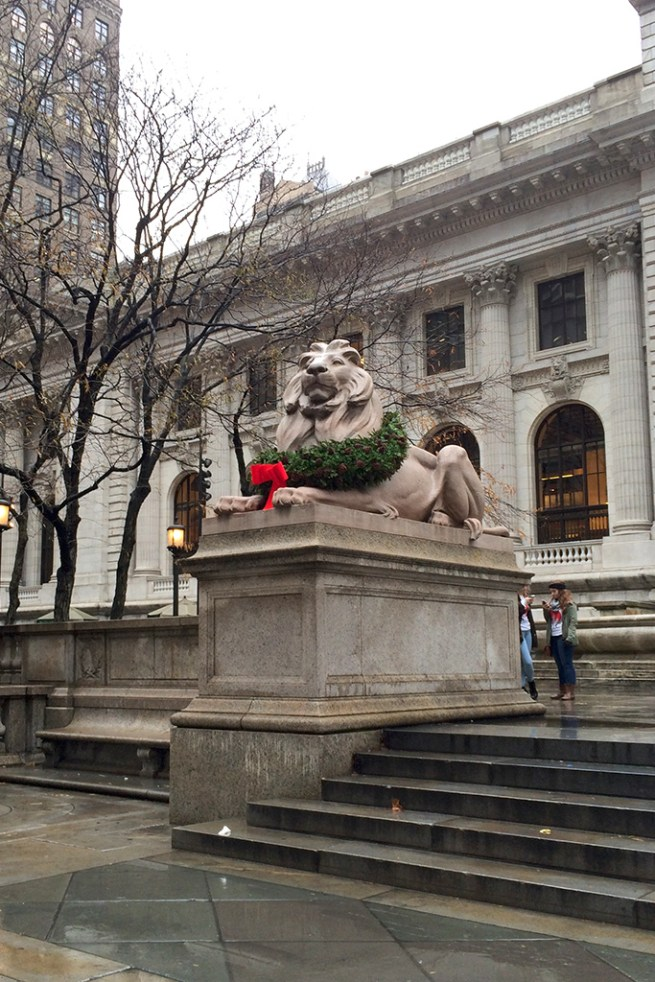 new york public library lions