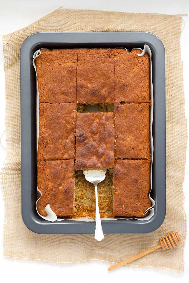 zucchini honey cake