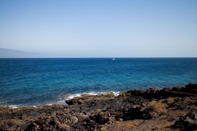 lanzarote teguise beach ocean view