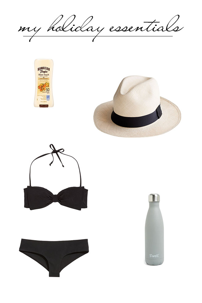 my holiday essentials