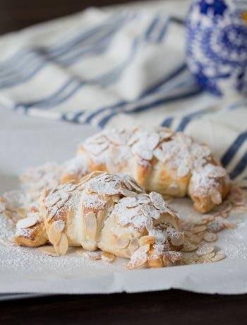 marzipan croissants
