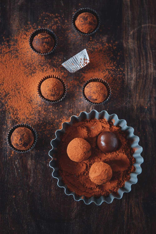 Chocolate Caramel Truffles