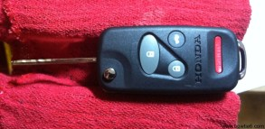Flip key deployed