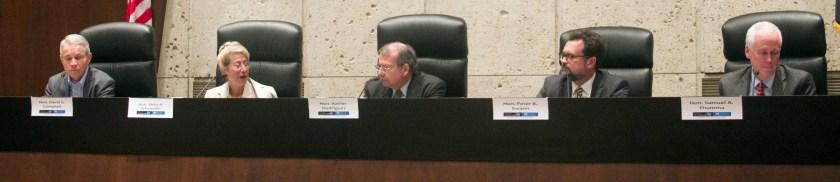 Judicial Panel at ASU Arkfeld with Judge David G. Campbell / Judge Shira A. Scheidlin / Judge. Xavier Rodriguez / Hon. Peter B. Swann / Hon. Samuel A. Thumma