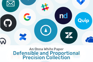 Defensible and Proportional Precision Collection