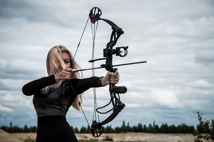 """6.5/"""" Customizable Stabilizer Vibration Dampening Compound Bow Hunting Aecessory"""
