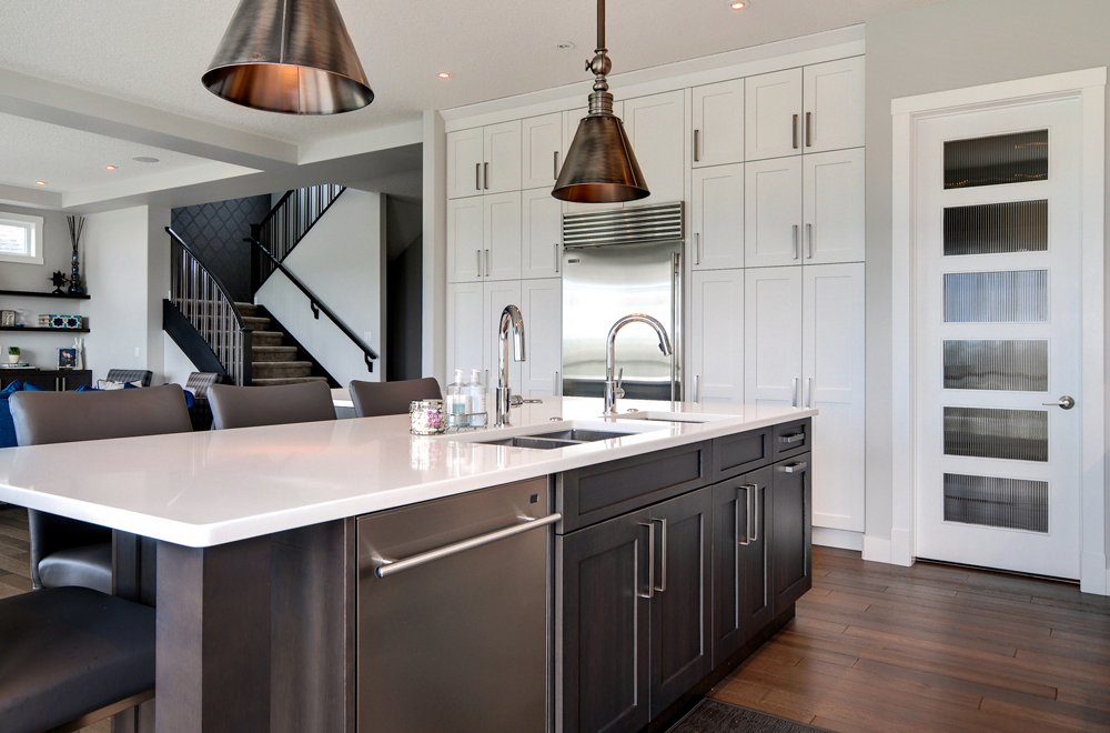 kitchen cabinet styles red trash can bow valley kitchens calgary these cabinets did not need to be beautiful they came in two main boxes with doors or without