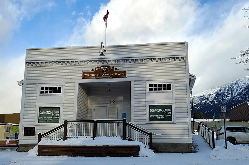 Miner's Hall Canmore