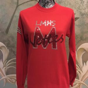 LMHS M-Nettes Long Sleeve Crew Neck Red
