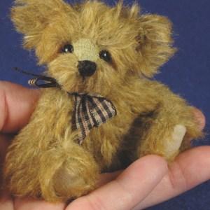 Odie - 3 1/2″ MINIATURE TEDDY BEAR PATTERN