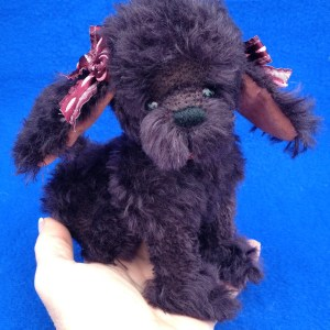 FIFI – 7″ JOINTED ARTIST POODLE PUPPY DOG PATTERN
