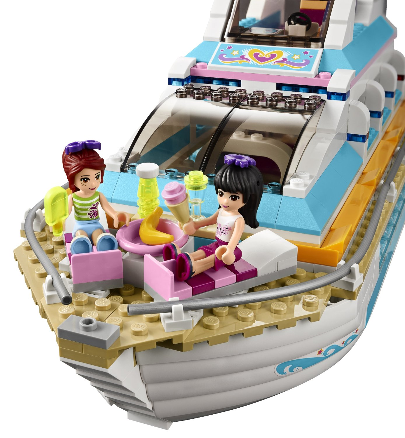 Shopping For Lego Friends Dolphin Cruiser 41015 Building Kit?