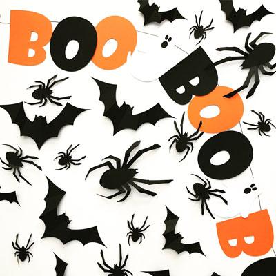 Black Kitty Cat Halloween Brunch- Decorations