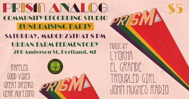 Prism Analog Fundraising Party