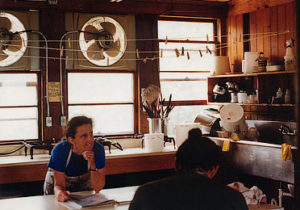 Astrid teaching at Penland School of Crafts
