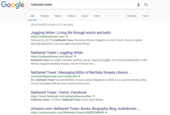 author serps