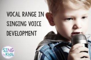 singing voice development, vocal range, initial singing voice range, elementary music, elementary singers, children's voices, children singers