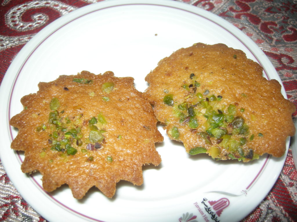 Cake Yazdi is a kind of cupcake