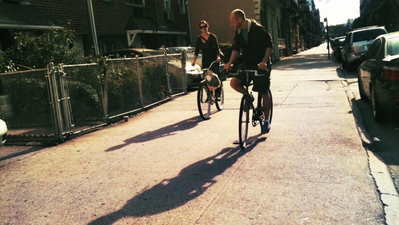 Sidewalk Bikers