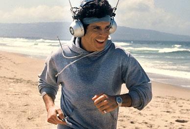 Running with big headphones