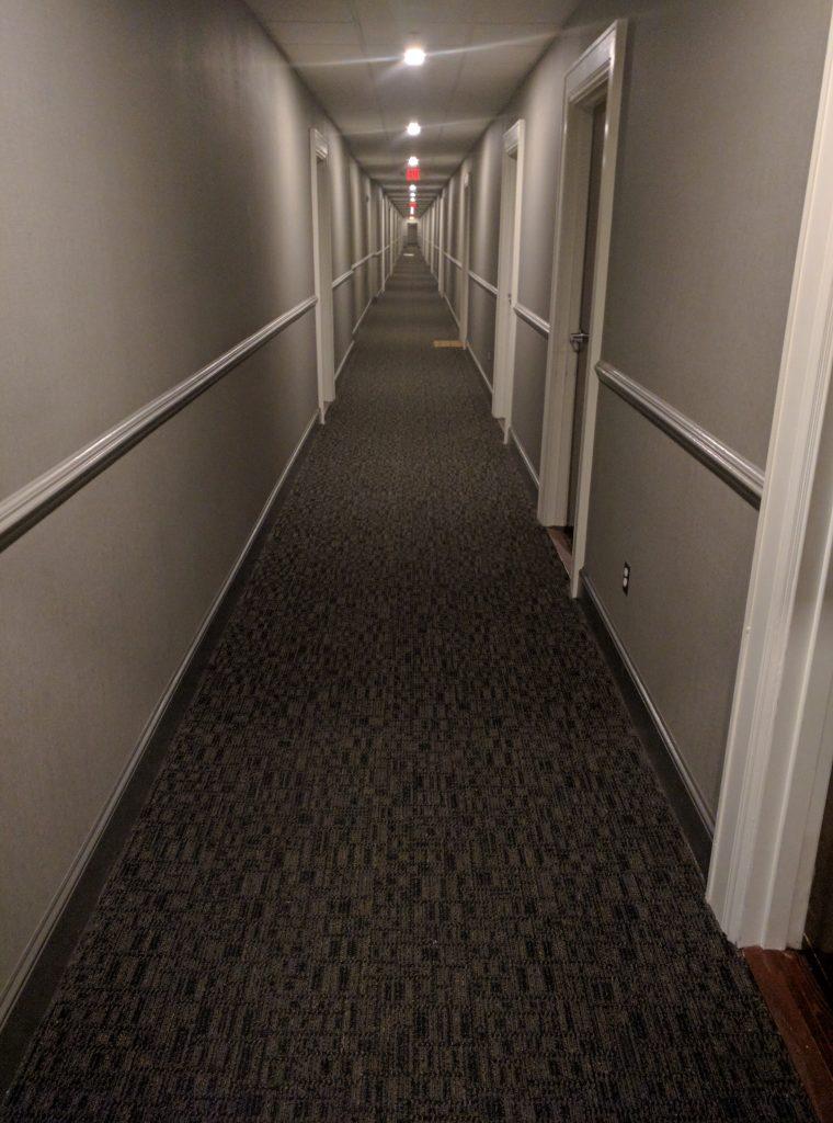 Long, Ominous Hallway