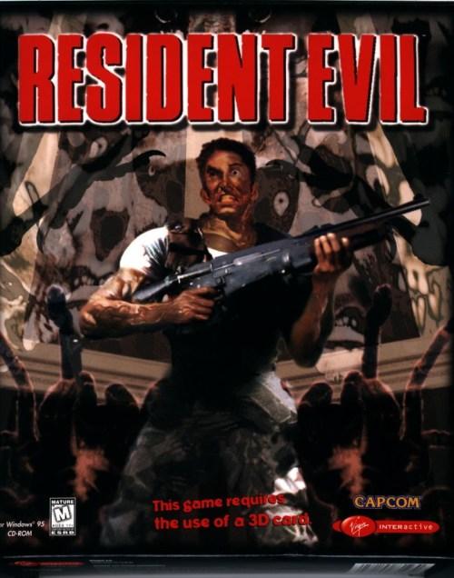 Resident Evil game cover