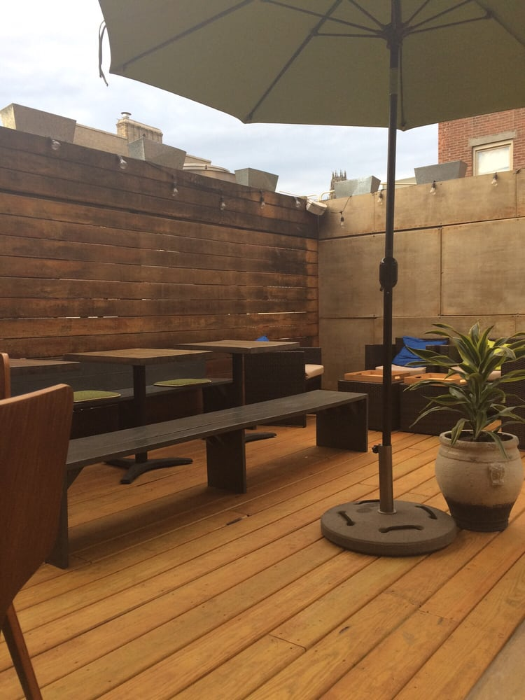Elm City Social rooftop