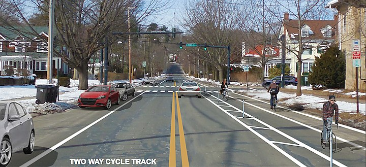 Edgewood Cycle Track