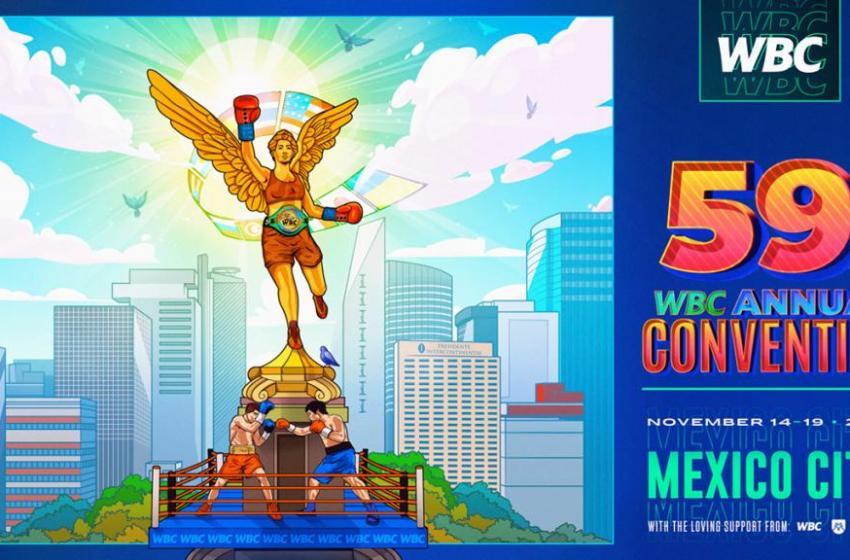 Pre registro de la  Convención 59 del WBC