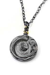 Billions and Billions: 8 of 1 Billion Necklace by Tamra M. Gentr