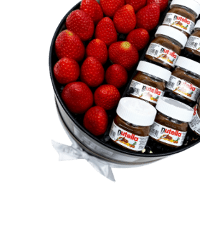 Strawberry with Nutella Gift Box