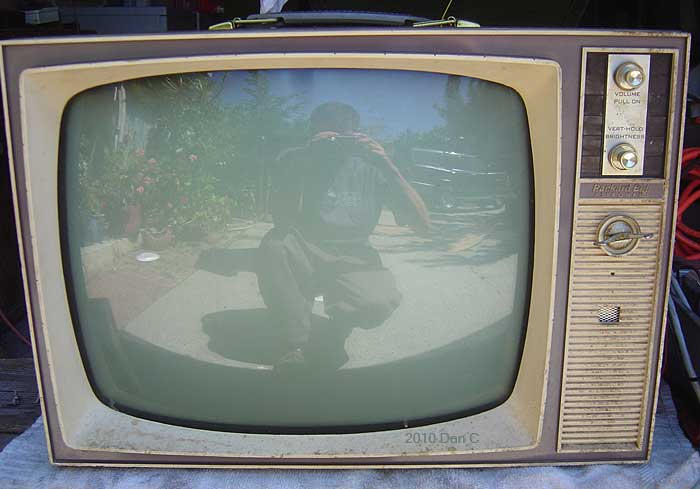 Old Tube Television Sets Packard Bell Teledyne Nec