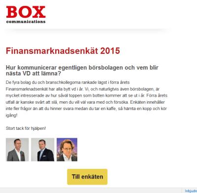 Finansmarknadsenkät 2015