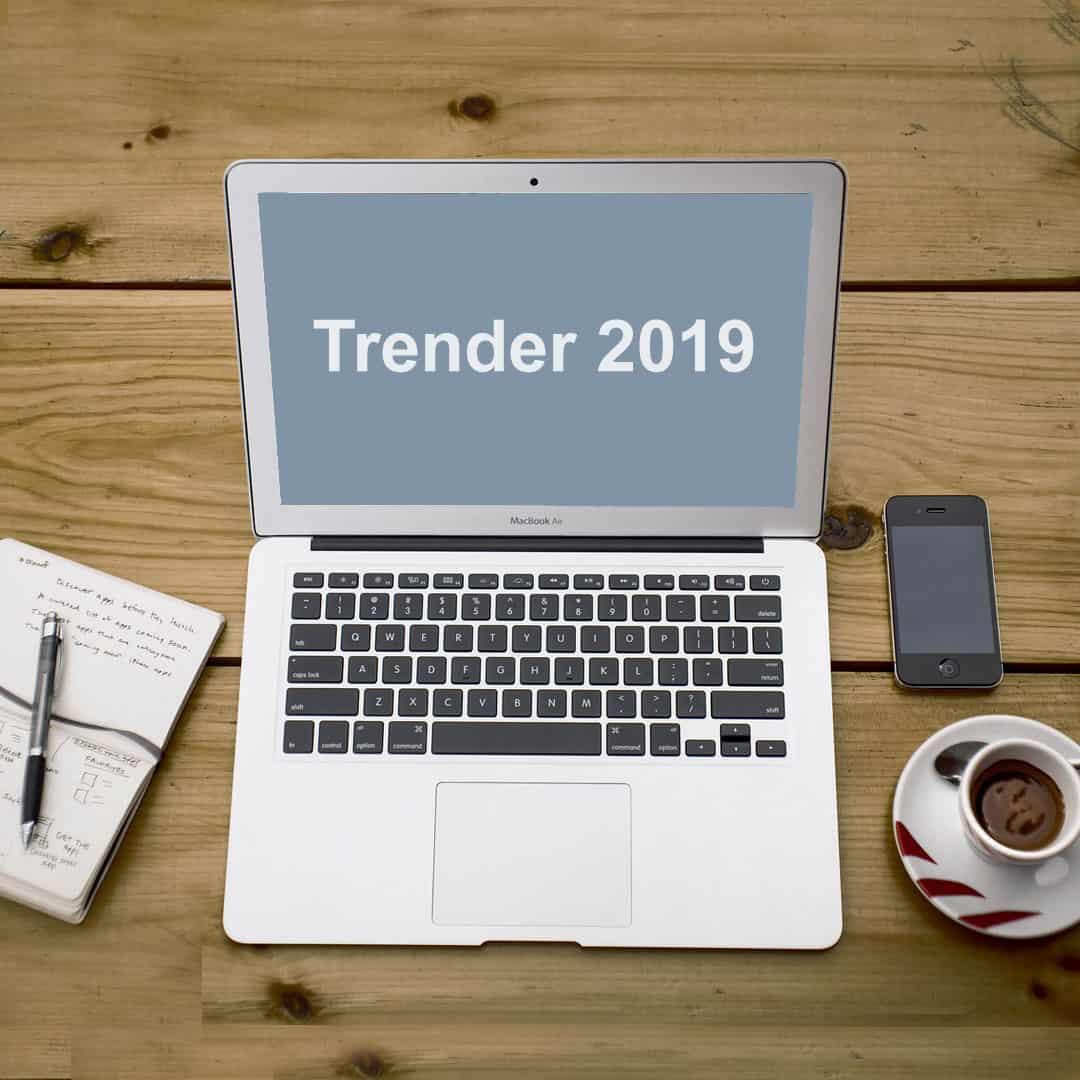 Vilka trender ser vi på sociala medier 2019?
