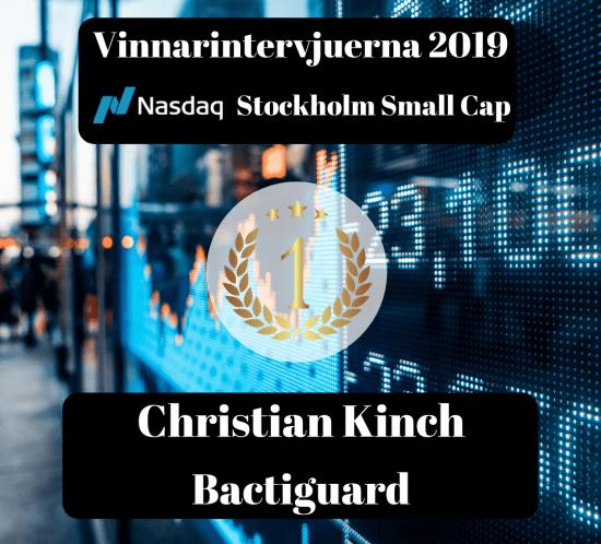 Vinnare, twitter, börs-vd, Christian Kinch, Bactiguard