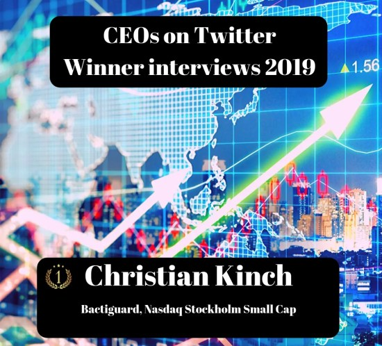 CEOs on Twitter, Christian Kinch, Bactiguard