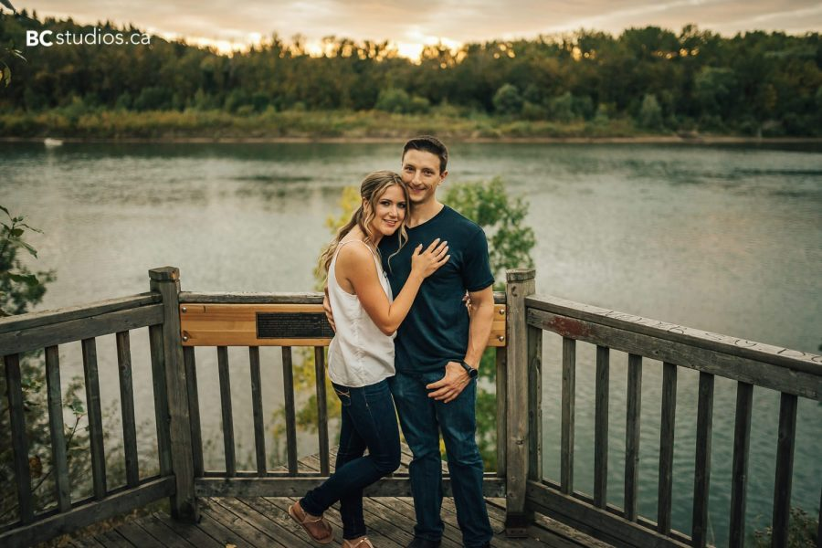 Edmonton Engagement Photographers - Engagement Session at Victoria Park