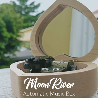 Moon River Automatic Music Box