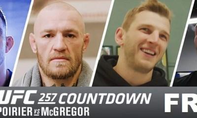 UFC 257 - McGregor vs Poirier 2 - Regarder le Countdown en version Française !