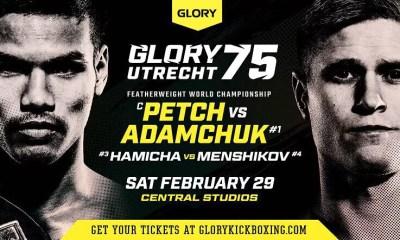 GLORY 75 - PETCH vs ADAMCHUK 3 - Direct Live et Résultats