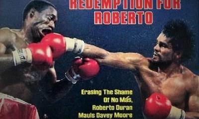 Roberto Duran vs Davey Moore - Combat de Boxe - Replay vidéo